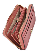 Portemonnee Leder Michael kors Zwart money pieces F8TF6Z0L-vue-porte