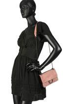 Cross Body Tas Velvet Milano Roze velvet VE17111-vue-porte