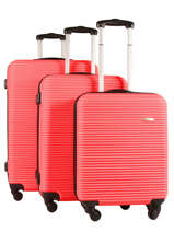 Set Reiskoffers Madrid Travel Rood madrid 1701-LOT