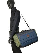 Reistas Luggage Quiksilver Zwart luggage QYBL3153-vue-porte