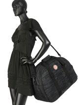 Reistas Luggage Roxy Zwart luggage RJBL3156-vue-porte