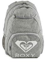 Rugzak 2 Compartimenten Roxy Grijs backpack RJBP3889