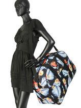 Reistas Luggage Roxy Zwart luggage RJBL3157-vue-porte