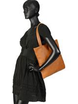 Shoppingtas Flat Bag Woomen Beige flat bag WFLAT01-vue-porte