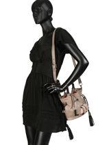 Bucket Bag S Premier Flirt Lancel Bruin premier flirt A10109-vue-porte
