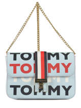 Cross Body Tas Th Heritage Tote Tommy hilfiger Beige th heritage tote AW06874