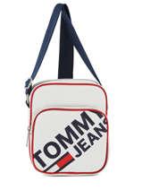Cross Body Tas Tommy Jeans Tommy hilfiger Wit tjm modern AM04412