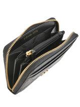Portemonnee Leder Michael kors Zwart money pieces S9GF6Z1Y-vue-porte