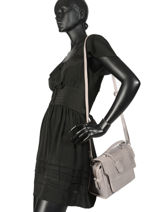 Cross Body Tas About Ally Leder Burkely Zwart about ally 541329-vue-porte