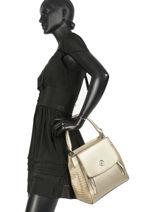 Bucket Bag Sicilia Ted lapidus Goud sicilia PAE-8712-vue-porte