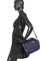 Beauty Case Soepel Kipling Blauw basic travel 13860-vue-porte