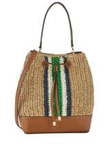 Bucket Bag Uit Raffia Debby Lauren ralph lauren Zwart dryden 31742684