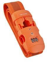 Bagageriem Samsonite Oranje accessoires C01057