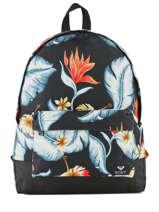 Rugzak 1 Compartiment Roxy Zwart backpack RJBP3837