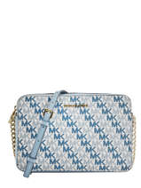 Cross Body Tas Jet Set Logo Michael kors Wit crossbodies S9GF5C3B