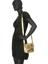 Cross Body Tas Vintage Leder Paul marius Goud vintage ESSENTIE-vue-porte