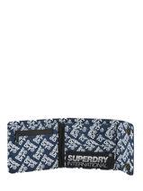 Portefeuille Superdry Zwart accessories M98005MT-vue-porte