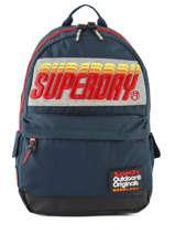Rugzak 1 Compartiment Superdry Zwart backpack men M91024MT