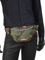 Heuptasje Superdry Zwart men bag M91021JT-vue-porte