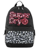 Rugzak 1 Compartiment Superdry Zwart backpack woomen G91110MT