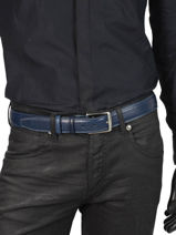 Verstelbare Herenriem Extra Miniprix Blauw extra 290-35-vue-porte