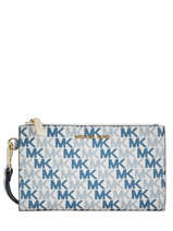 Portefeuille Jet Set Logo Michael kors Wit money pieces S9GFDW4B