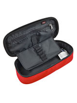 Pennenzak Authentic Oval Eastpak Rood authentic K717-vue-porte