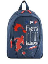 Rugzak Federat. france football Blauw equipe de france 193X201S