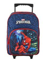 Rugzak Op Wieltjes Mask Spiderman Blauw mask SPIEI08