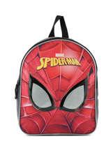 Mini Rugzak Mask Spiderman Rood mask SPINI03