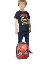 Rugzak Op Wieltjes Mask Spiderman Rood mask SPINI04-vue-porte