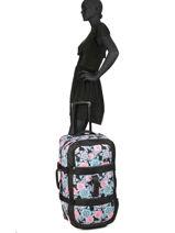 Reistas Luggage Roxy Zwart luggage RJBL3169-vue-porte