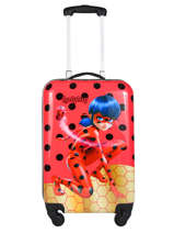 Harde Reiskoffer Tales Of Ladybug Miraculous Rood tales of ladybug 109895LB