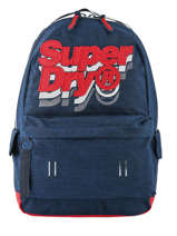 Rugzak 1 Compartiment Superdry Blauw backpack men M91801MU