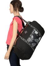 Reistas Voor Cabine Luggage Neoprene Roxy Zwart luggage neoprene RJBL3162-vue-porte