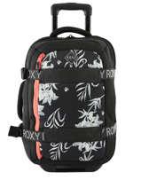 Handbagage Wheelie Neo Roxy Zwart luggage neoprene RJBL3163