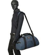 Reistas Voor Cabine Authentic Luggage Eastpak Blauw authentic luggage K735-vue-porte