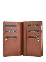 Portefeuille Leder Lancaster Bruin parisienne 171-06-vue-porte