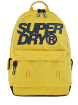 Rugzak 1 Compartiment Superdry Zwart backpack men M9100015