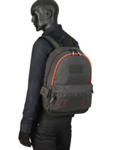 Rugzak 1 Compartiment Superdry Grijs backpack men M9100024-vue-porte