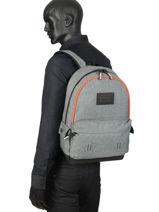 Rugzak 1 Compartiment Superdry Grijs backpack men M9100024-vue-porte