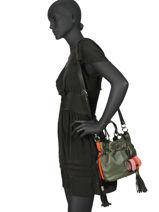 Bucket Bag S Premier Flirt Lancel Veelkleurig premier flirt A10294-vue-porte