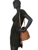 Bucket Bag Tradition Leder Etrier Bruin tradition EHER29-vue-porte
