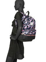 Rugzak 1 Compartiment Superdry Veelkleurig backpack woomen W9100016-vue-porte