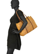 Shoppingtas Authentic Synderm Torrow Bruin authentic TAUT01-vue-porte