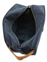 Toiletzak Cotton Faguo Blauw classic 19AC0901-vue-porte