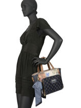 Handtas Couture Anekke Blauw couture 29881-65-vue-porte
