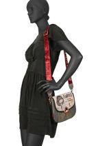 Cross Body Tas Couture Anekke Beige couture 29883-16-vue-porte
