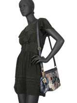 Cross Body Tas Couture Anekke Blauw couture 29882-08-vue-porte