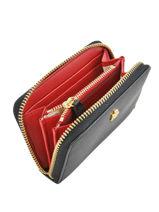 Portefeuille Dryden Leder Lauren ralph lauren Zwart dryden 32754175-vue-porte